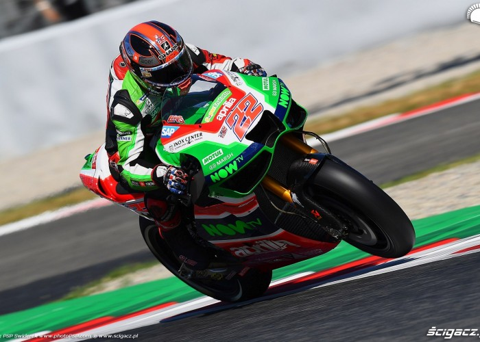 MotoGP Catalunya Aprilia 22 Sam Lowes 4