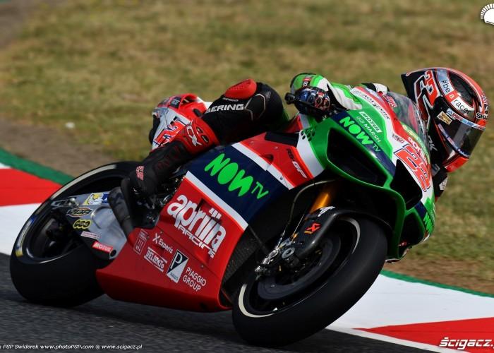 MotoGP Catalunya Aprilia 22 Sam Lowes 6