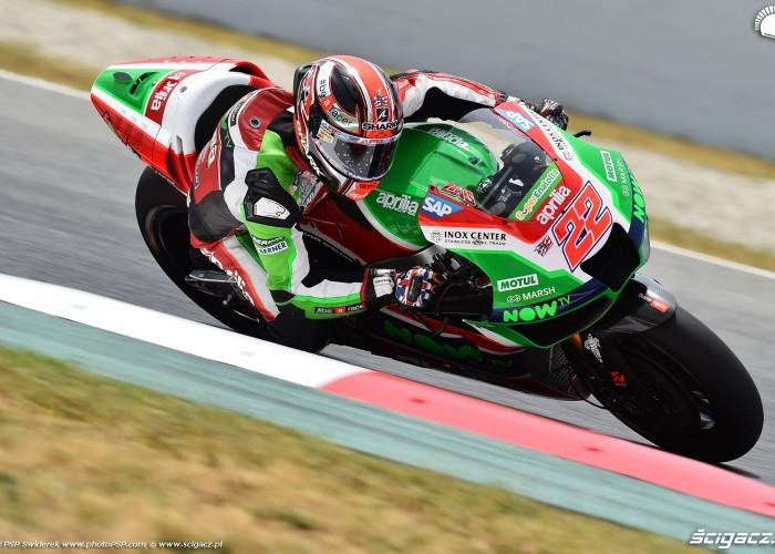 MotoGP Catalunya Aprilia 22 Sam Lowes 7