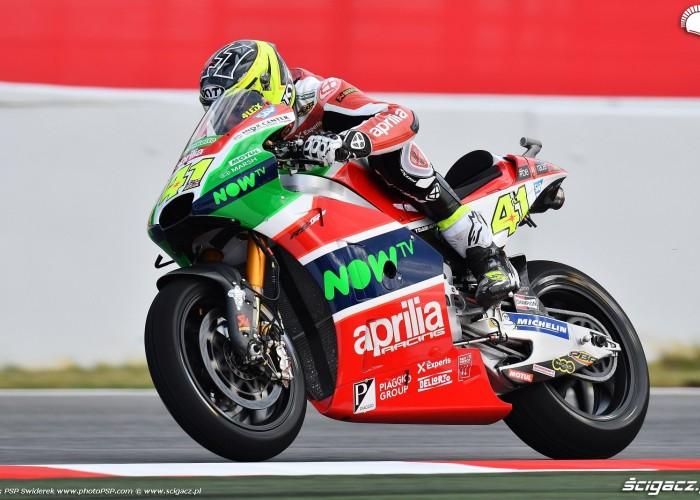 MotoGP Catalunya Aprilia 41 Aleix Espargaro 15