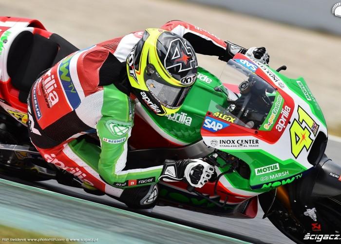 MotoGP Catalunya Aprilia 41 Aleix Espargaro 16