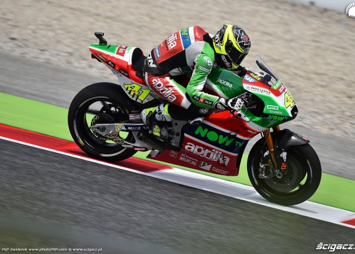 MotoGP Catalunya Aprilia 41 Aleix Espargaro 17