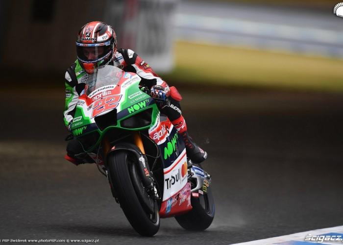 MotoGP Motegi Aprilia 22 Sam Lowes 5
