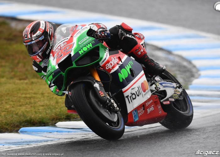 MotoGP Motegi Aprilia 22 Sam Lowes 9