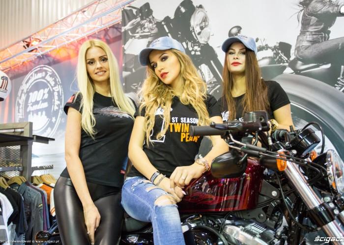 Hostessy Harley DavidsonWystawa Motocykli i Skuterow Moto Expo 2017 12