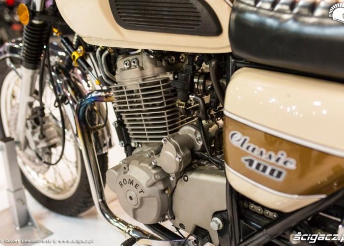 MotoExpo 2017 classic 400 silnik