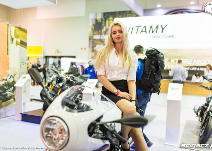 MotoExpo 2017 hostessa bmw