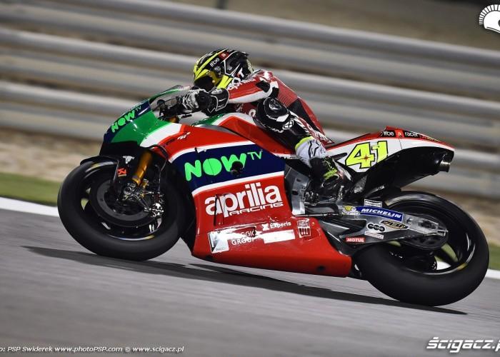 Losail motogp test Aleix Espargaro 12