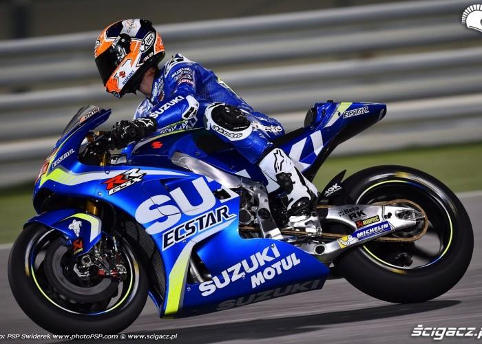Losail motogp test Alex Rins 01