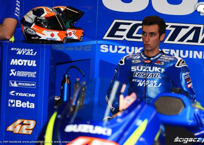 Losail motogp test Alex Rins 04