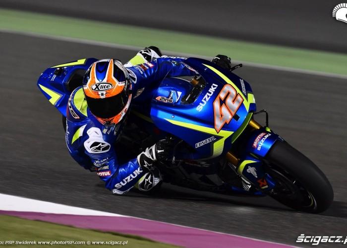 Losail motogp test Alex Rins 05
