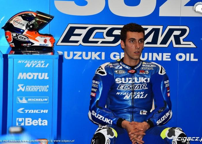 Losail motogp test Alex Rins 06