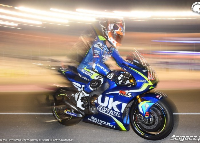 Losail motogp test Alex Rins 07