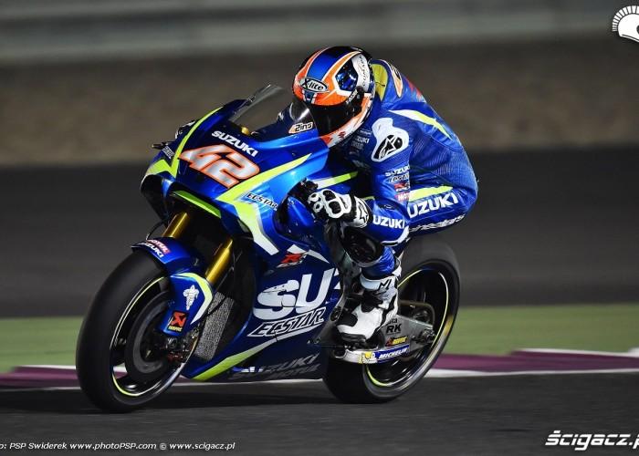 Losail motogp test Alex Rins 11