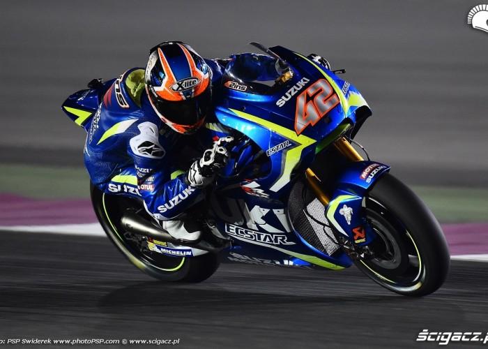 Losail motogp test Alex Rins 12