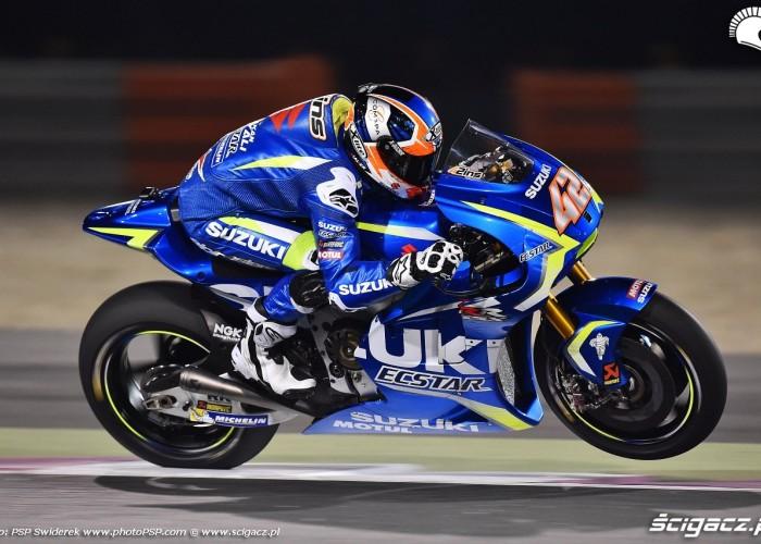 Losail motogp test Alex Rins 13