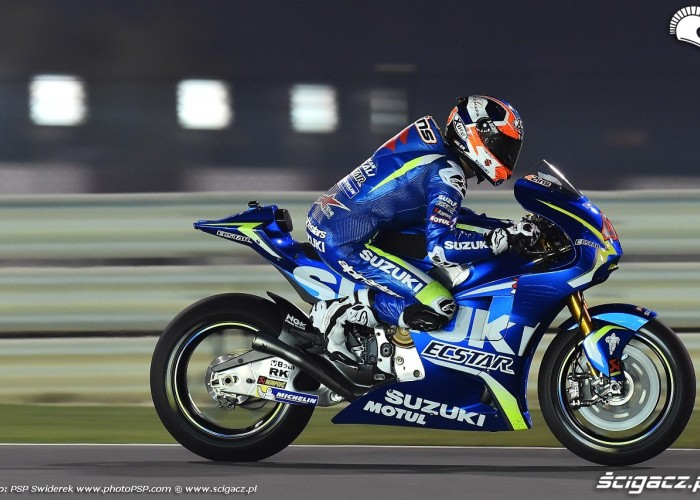 Losail motogp test Alex Rins 15