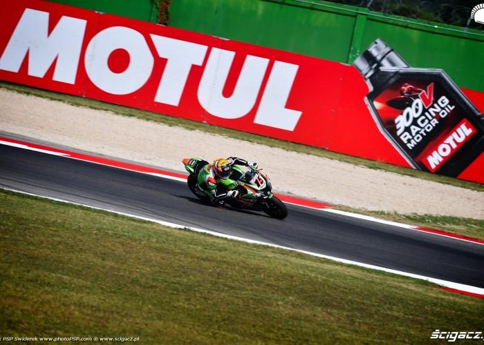WorldSBK Misano Alex DeAngelis 15 Kawasaki 1