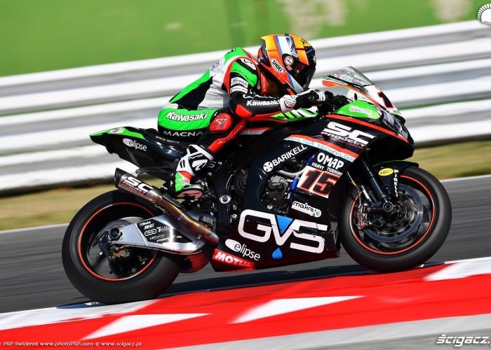 WorldSBK Misano Alex DeAngelis 15 Kawasaki 2