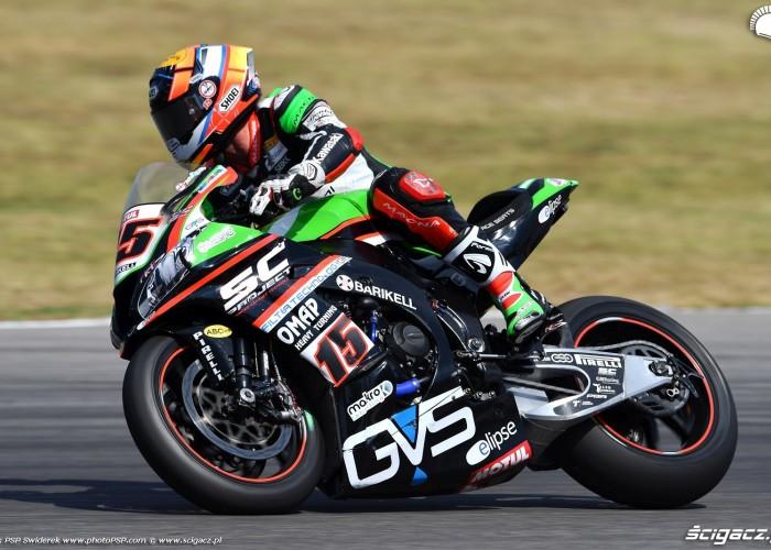 WorldSBK Misano Alex DeAngelis 15 Kawasaki 3