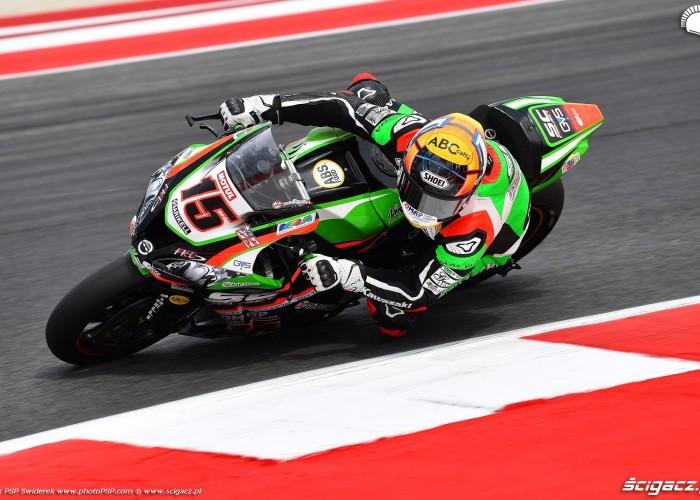 WorldSBK Misano Alex DeAngelis 15 Kawasaki 4