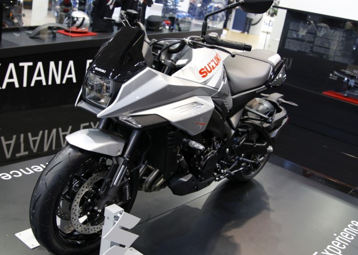 Nowosci Suzuki na rok 2019 Intermot Katana
