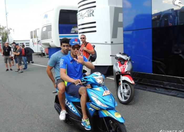 MotoGP Brno 2018 Alex Rins