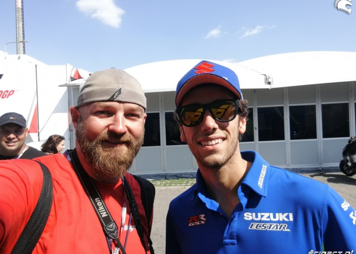 MotoGP Brno 2018 Alex Rins 3