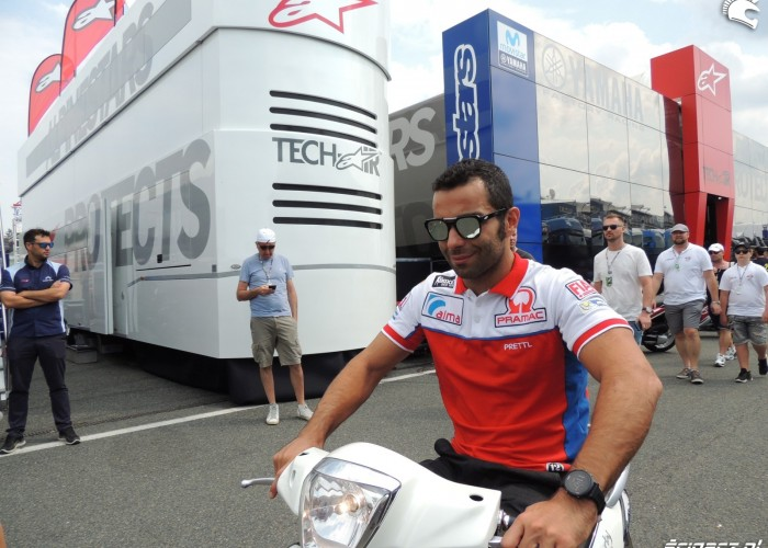 MotoGP Brno 2018 Danilo Petrucci