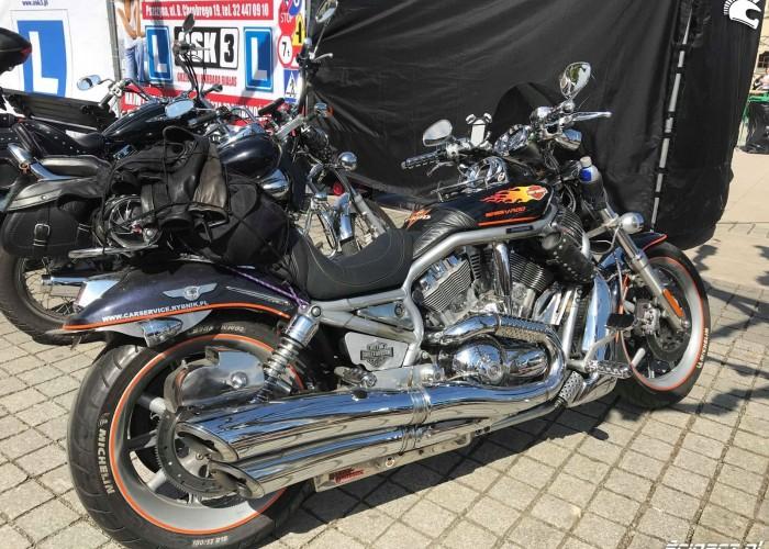 Harley Devidson V Rod w Pszczynie na Motoserce 2018