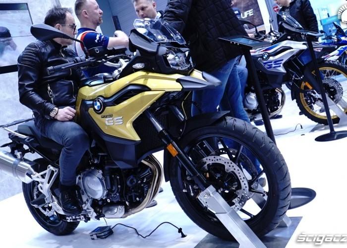 bmw f750gs poznan motor show