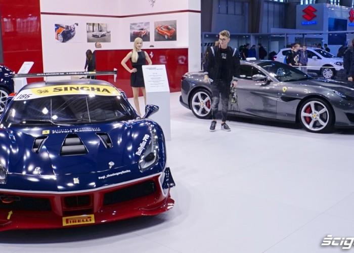 ferrari poznan motor show 2018