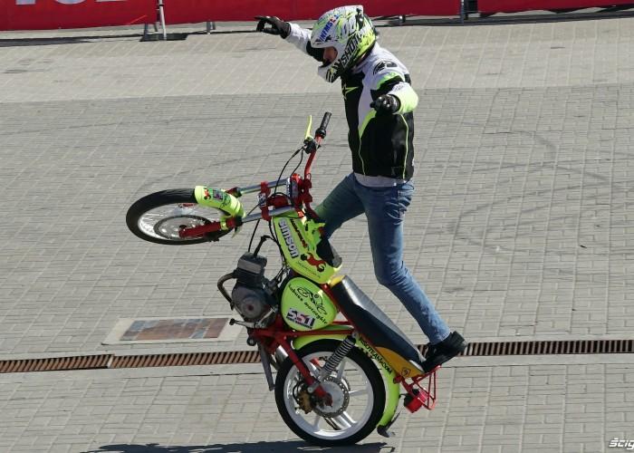 simson stunt poznan motor show 2018