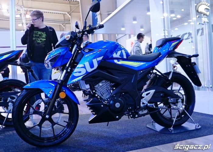 suzuki gsx s 125 poznan motor show 2018