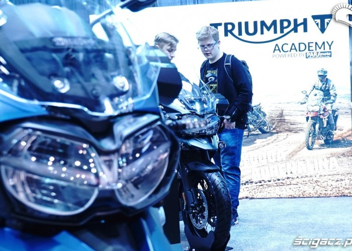 triumph academy poznan motor show 2018