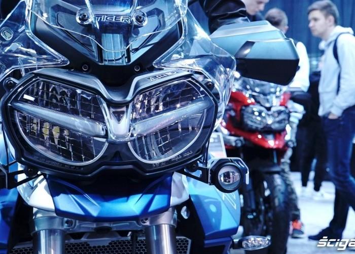 triumph tiger poznan motor Show 2018