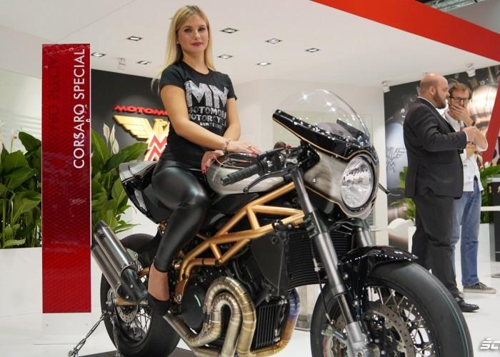 Moto Morini Corsaro EICMA 2019