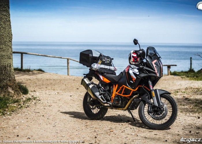 00 1290 Super Adventure R test motocykla KTM