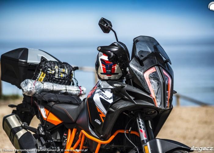 02 blisko KTM 1290 Super Adventure R test motocykla morze 4