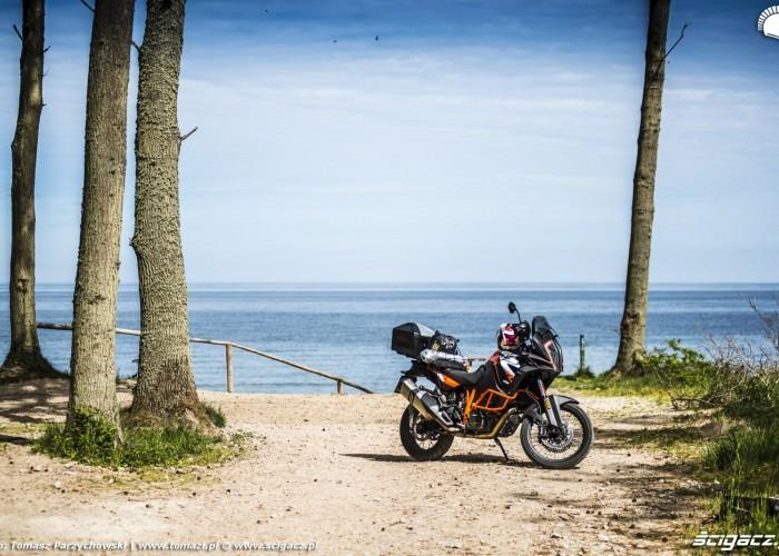 KTM 1290 Super Adventure R test motocykla morze 2