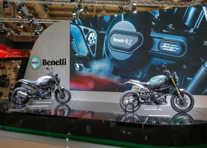 Benelli Leoncino800 dwa