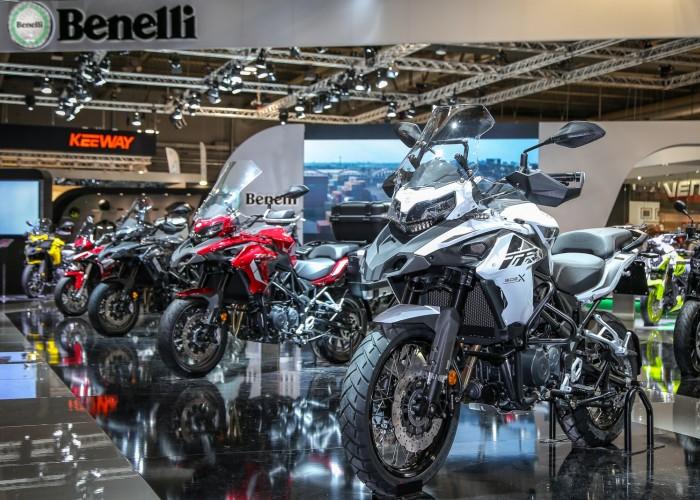 Benelli TRK502 grupa