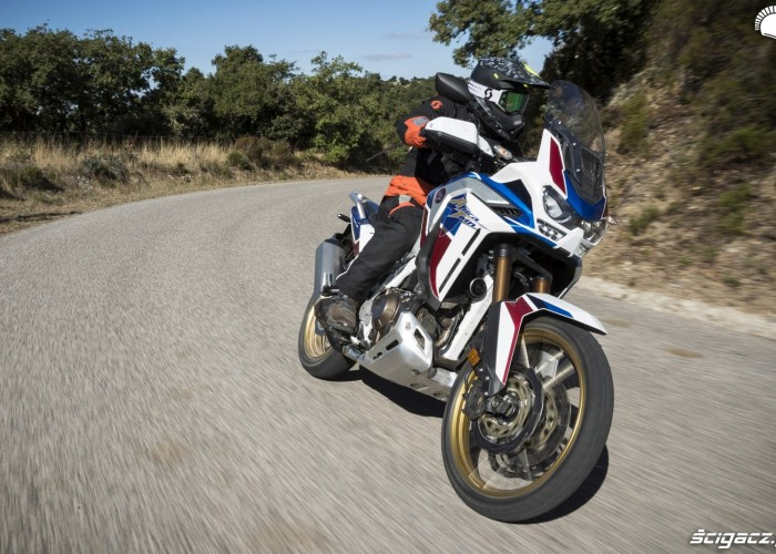 africa twin 1100 adventure sports test motocykla