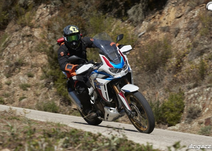 honda africa twin 1100 adventure sports jazda