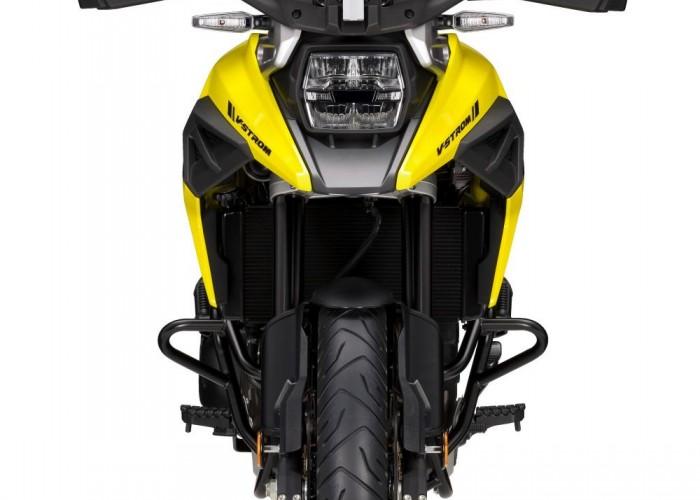 2020 Suzuki V Strom 1050 przod studio zolty