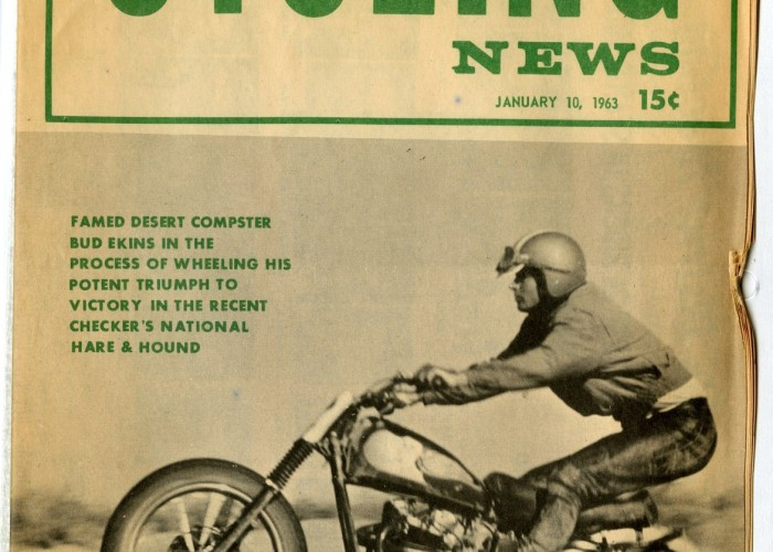 Cycling News Cover 1963