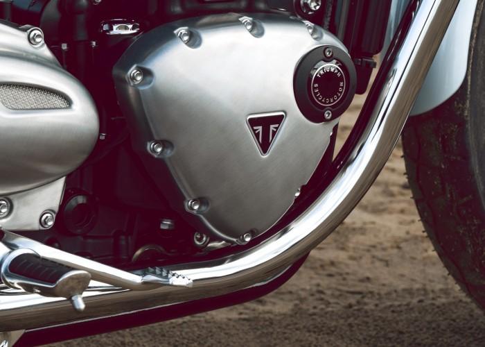 Triumph Bonneville Bud Ekins silnnik znaczek
