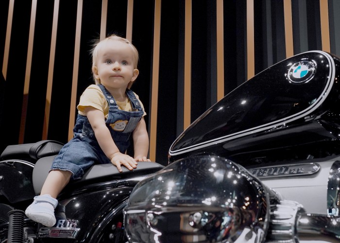 BMW R18 jazda