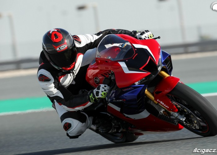 07 fireblade sp barry test premiera