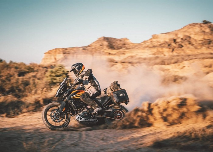 KTM 390 Adventure 2020 lewa strona kurz